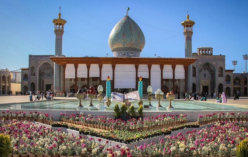 گنبد شاه چراغ شیراز یکی از زیباترین گنبدهای ایران