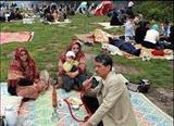 بازی «قـوقو برگ چنار» در سیزده به در افغانستان