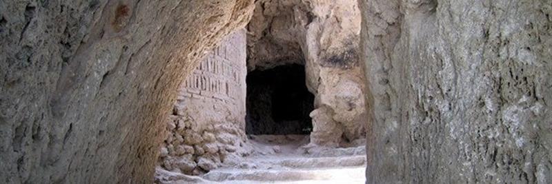 غار نیاسر کاشان از عجایب تاریخی+ عکس