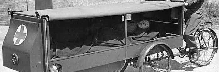 اولین آمبولانس های تاریخ + عکس