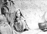 تصویری از فقرا و بیماران جذامی سال قحطی در آذربایجان