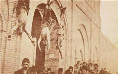 انواع مجازاتهای مجرمین در ایران قدیم