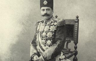 میرزا رضا خان ارفع الدوله و همراهان وی در دیدار با صاحب منصبان اروپائی