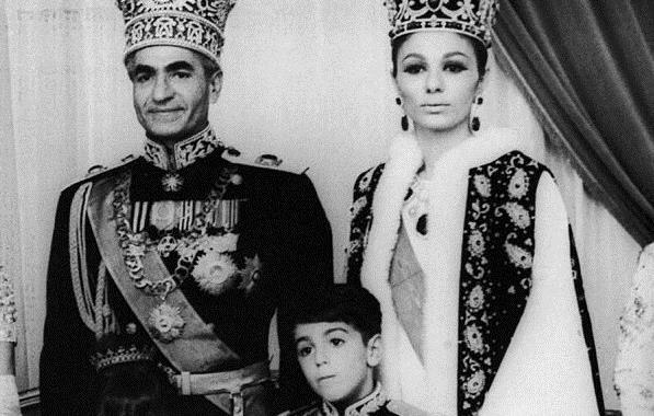 محمد رضا پهلوی در خردسالی