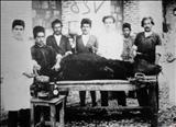 تصویری از درمانگاه دامپزشکی ارتش در جنگ لرستان