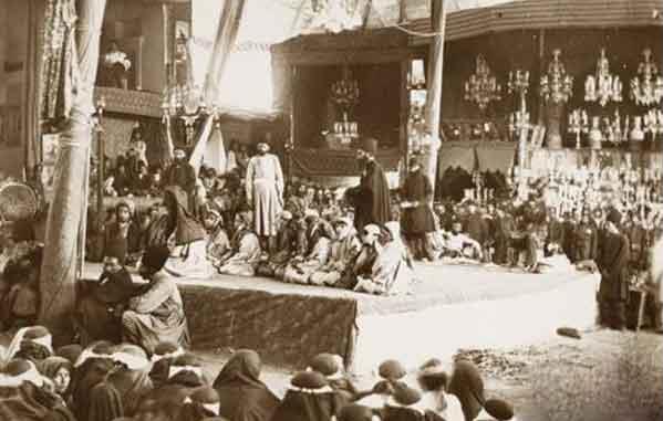 تعزیه خوانی در اواخر دوره قاجاریه