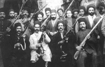مشروطه خواهان مسلح قفقازی ، تبریزی و رشتی