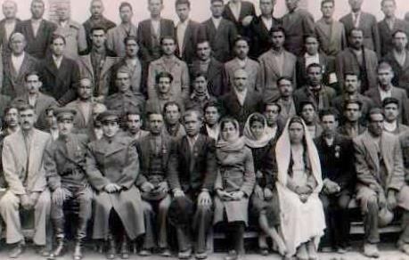جمعی از زنان عضو فرقه دموکرات آذربایجان