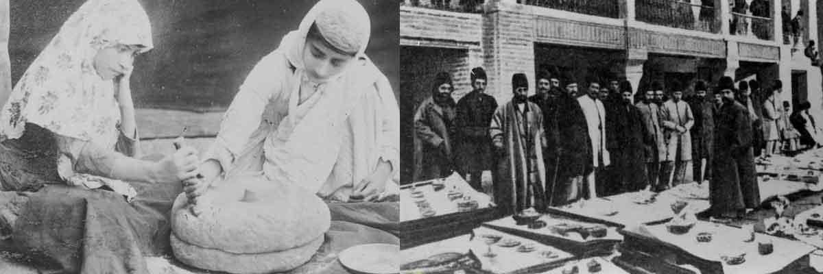 لباس اندرونی زنان ایرانی در دوره قاجاریه