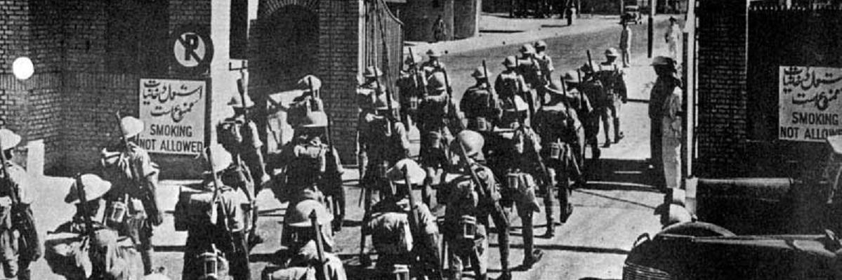 سلام اجباری نظامیان ایرانی به «سربازان گمنام» ارتش متفقین