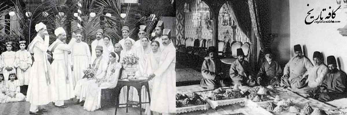 مراسم جهیزیه برون در سده های پیشین ایران