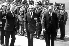 پیش بینی شاه از سقوط حکومت آلمان غربی!