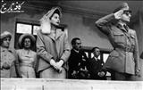 محمدرضا پهلوی در کدام مراسمهای رسمی ارتش شرکت می کرد؟