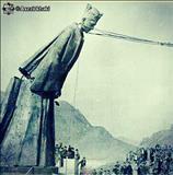 تصویری از  پایین کشیده شدن مجسمه فرح در شمال ایران