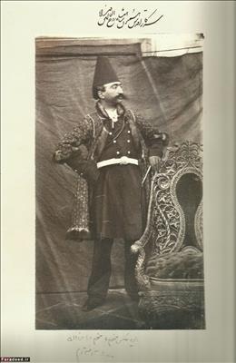 وقتی ناصرالدین شاه اولین عکس سلفی در ایران را می گیرد+عکس