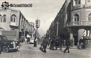 تصویری از  اولین چراغ راهنمایی در ایران به صورت کوله پشتی