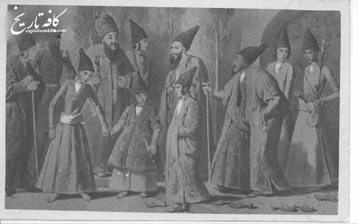 آداب حضور در کنار پادشاهان قاجار
