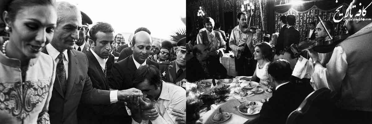 صورت کادوهای جالب ارسالی خاندان پهلوی به مهمانان خاص