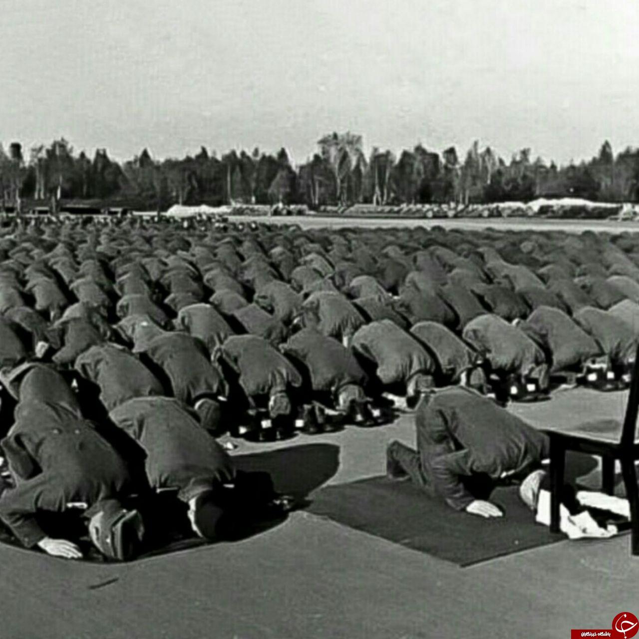 نماز جماعت ارتش هیتلر