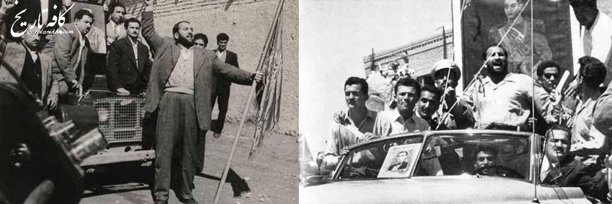 گریه بی امان شعبون بی مخ در فراق منصور
