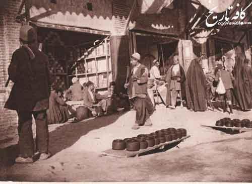 بازار اصفهان از نگاه پیر لویی