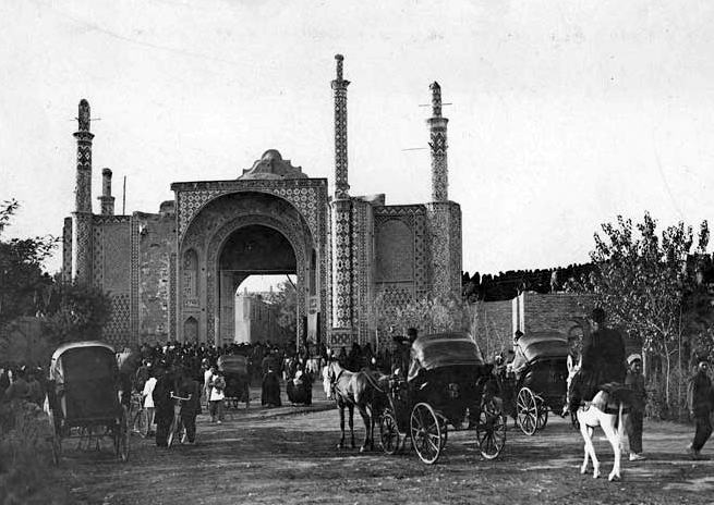 تهران و دروازه های آن در قدیم + عکس