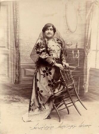 عصمت الدوله نوه ناصرالدین شاه