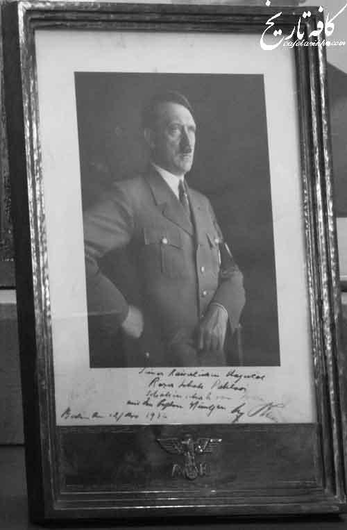 فلسفه امضای بسیار عجیب هیتلر+تصویر