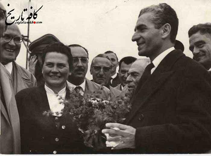 شاه در آلمان غربی