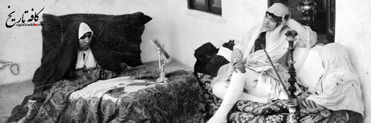 زنان ساپورت پوش دوران قاجار