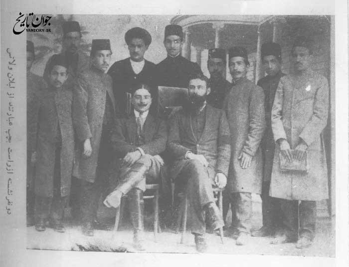 شیلان و لاتس مستشار عهد قاجار