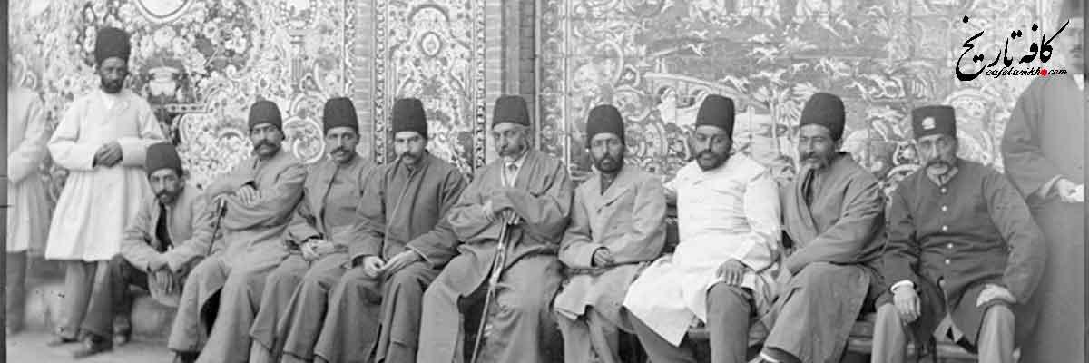تصویری دیده نشده از هوا کردن بالون در اواسط دوره قاجاریه