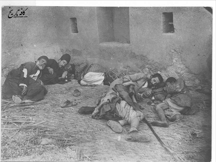 شیره کش خونه در دوران قاجار