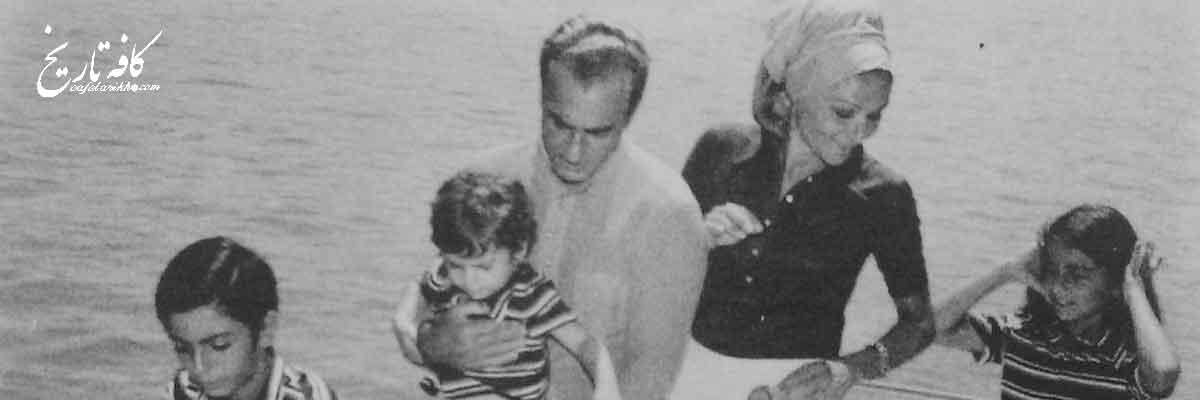 محمدرضا پهلوی در پارک مرکزی نیویورک
