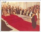 شعرخوانی در مراسم تاجگذاری محمدرضا پهلوی
