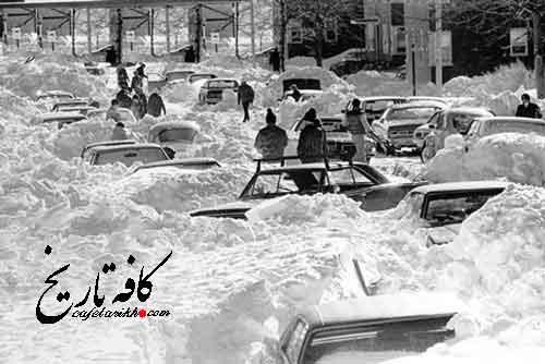 برف 6 متری در ایران/ وحشتناک ترین بوران بشریت در ایران در سال 1350+ تصاویر