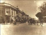 چهارراه  استانبول  تهران  و نمای  بیرونی  سینما قصر ، در دهه  1320