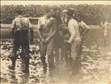 عکس بسیار قدیمی از اولین بازی لیگ اسپانیا بین تیم های رئال مادرید و بارسلونا در ۱۹۲۹