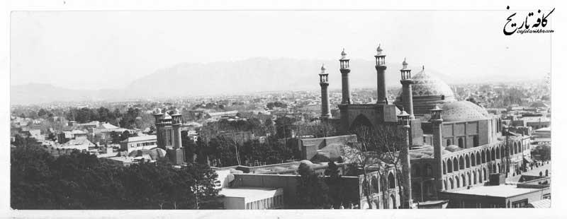 معماری جالب توجه نخستین مدرسه عالی در تهران+ تصویری هوایی