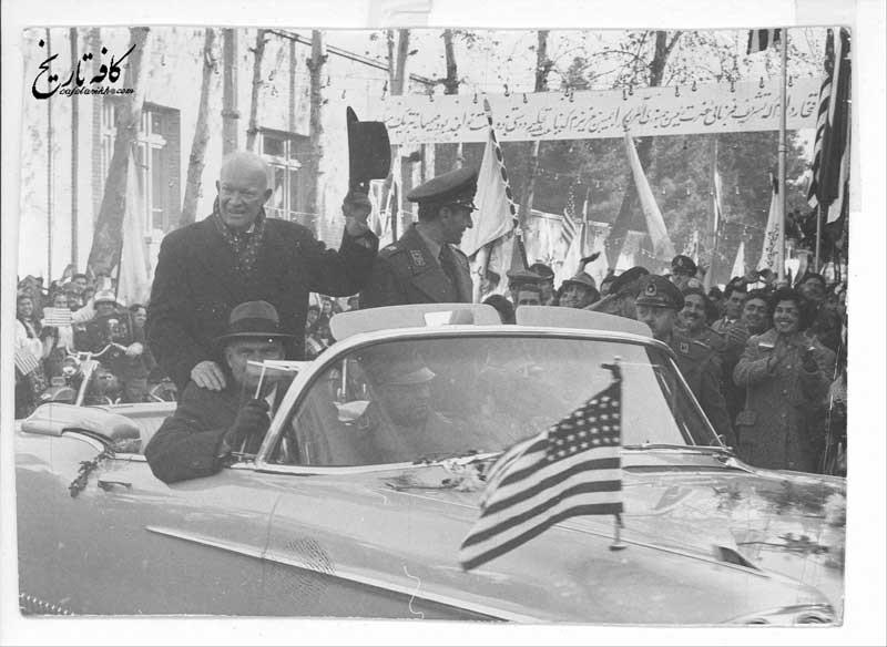دکترین آیزنهاور در ایران؛ از ساقط کردن دولت مصدق تا تامین منافع نفتی