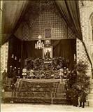 عکسی دیده نشده از تابوت ناصرالدین شاه در مراسم تشییع