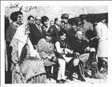 اشرف پهلوی و هنرپیشه مشهور آمریکایی در یک قاب