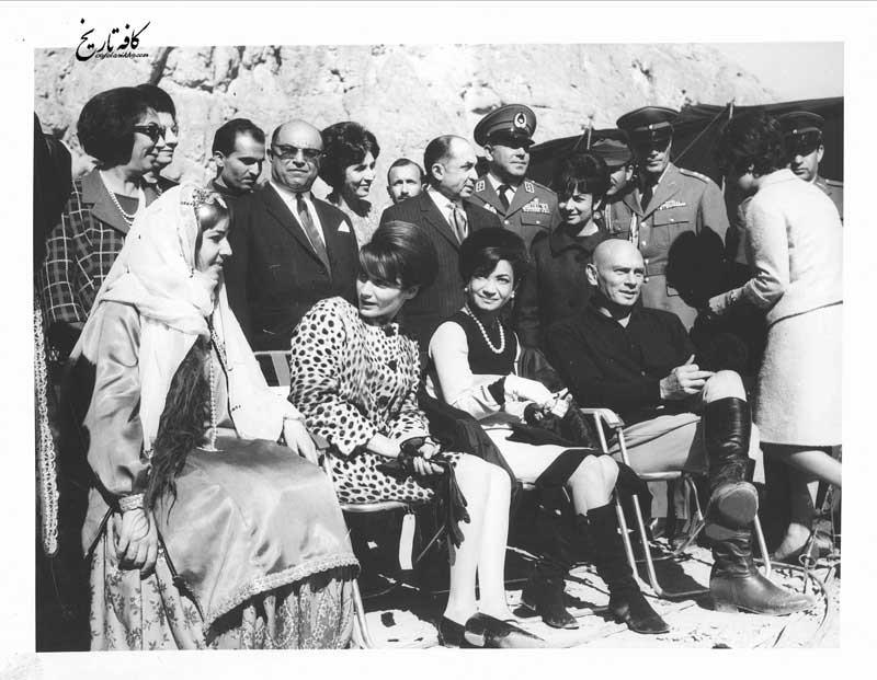 اشرف پهلوی و یول براینر