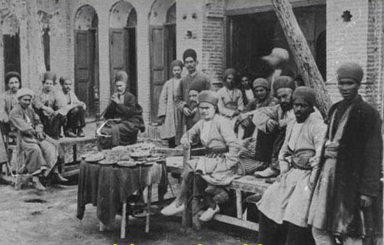 پرخوری غلامان ایرانی از نگاه کنسول انگلیسی