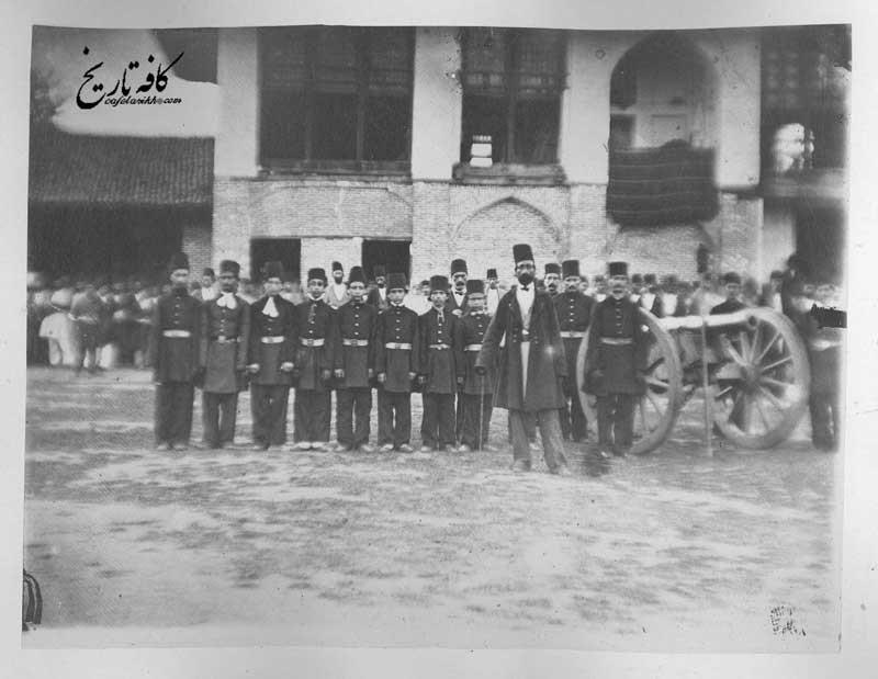 دانش آموزان قزاق در اواسط سلطنت ناصرالدین شاه