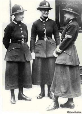 تصاویری جالب از  پلیس زن/1920