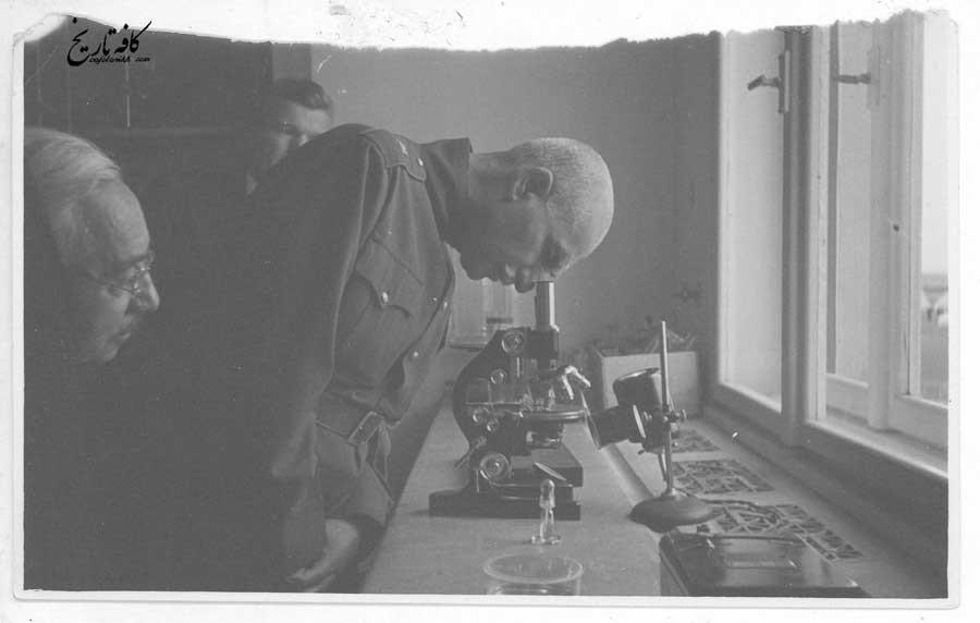 رضاخان در آزمایشگاهی در ترکیه