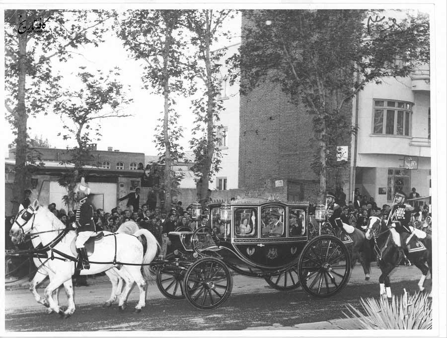 سفر پادشاه بلژیک به دعوت محمدرضا پهلوی به ایران