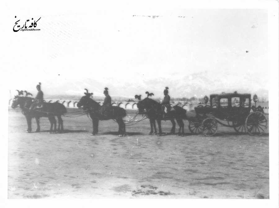 عمارت میدان اسب دوانی در زمان ناصرالدین شاه