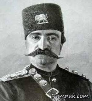 عکسی دیده نشده از ناصرالدین شاه با لباس های فرنگی